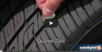 checking tire tread