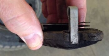 worn brake warnings