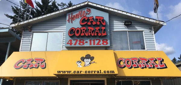 Howie's Car Corral office building