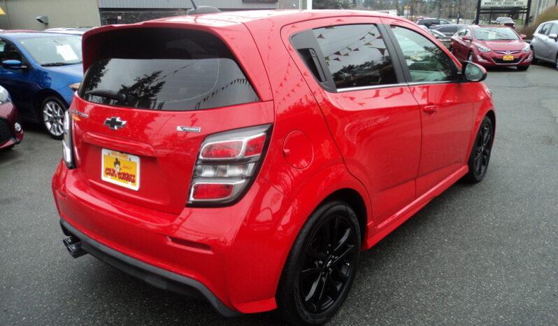 2018 Chevrolet Sonic Premier RS full